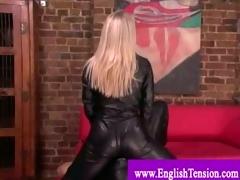 dominatrix leather