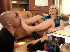blonde fetish
