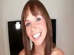 brunette cute