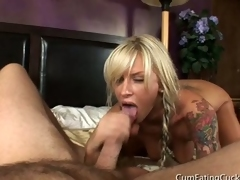 blonde cock
