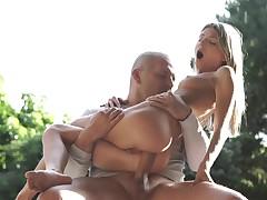 anal blonde